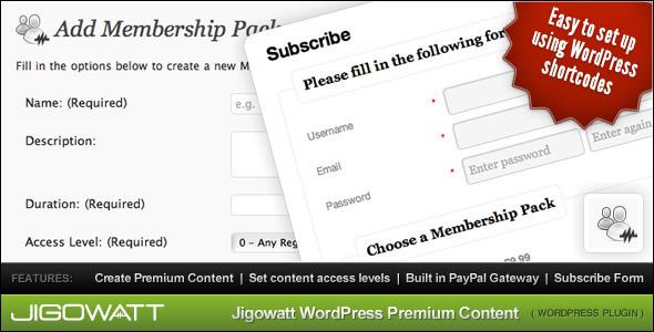 Buy WordPress Premium Content