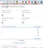Google Adsense Publisher plugin for Chrome
