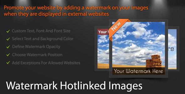 Watermark Hotlinked Images WordPress Plugin